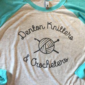 Denton Knitters & Crocheters Raglan Shirt